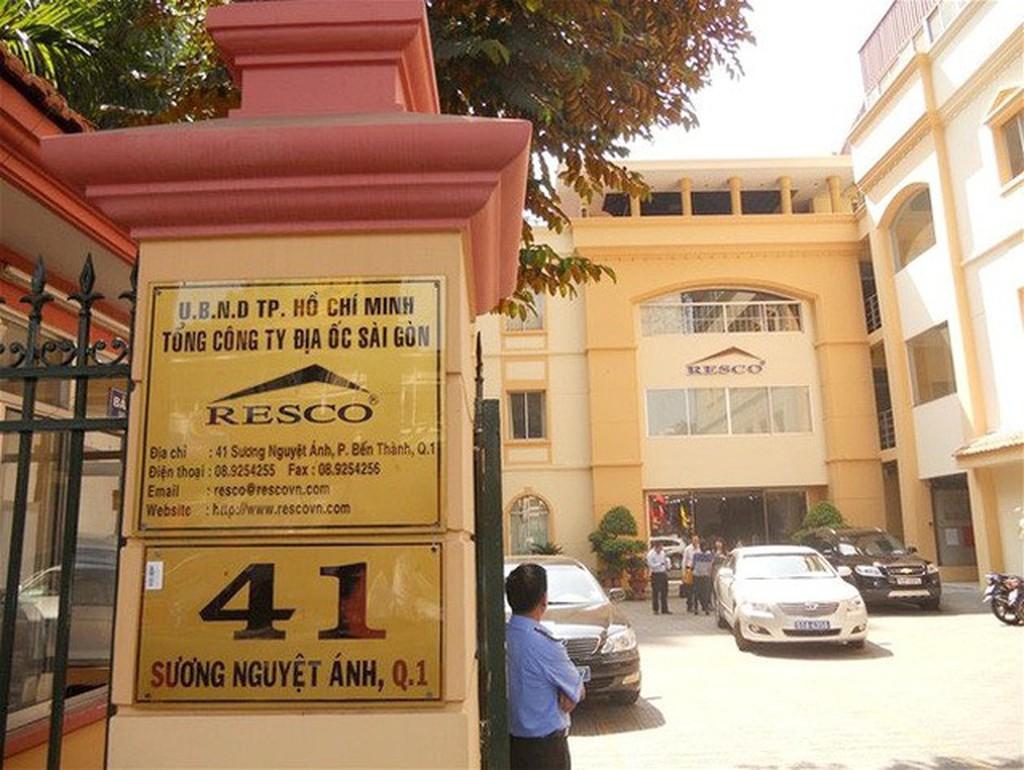 Hàng loạt sai phạm đã xảy ra tại Tổng công ty Địa ốc Sài Gòn - TNHH MTV (Resco).