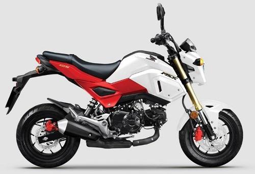 Honda MSX 125 về Việt Nam với tùy chọn màu mới