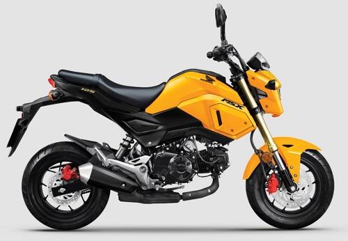 Giá bán Honda MSX không đổi, ở mức 49,99 triệu đồng