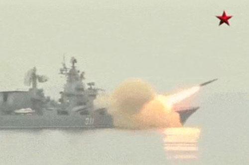 Tuần dương hạm tên lửa của hải quân Nga