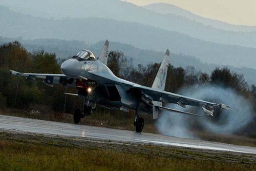 Tiêm kích Su-35S của Không quân Nga. Ảnh: TASS.