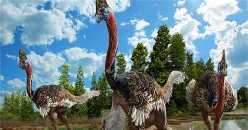 Tìm thấy hóa thạch hoàn hảo của loài khủng long giống hệt đà điểu - 1