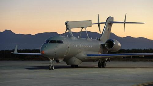 UAE sẽ nhận ba máy bay GlobalEye đến hết năm 2021, với hai chiếc tiếp theo dự kiến sẽ theo sau. Ảnh: Saab.