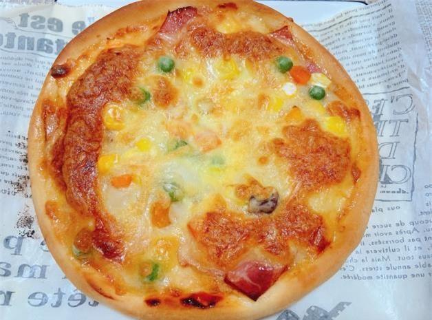 làm pizza tại nhà 7