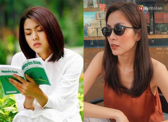 Giật mình ngắm lại kiểu tóc thời ơ kìa của sao Việt: Hà Tăng tóc bob, Bảo Thy tóc sư tử nhưng sốc nhất là tóc con trai của Minh Hằng - Ảnh 1.