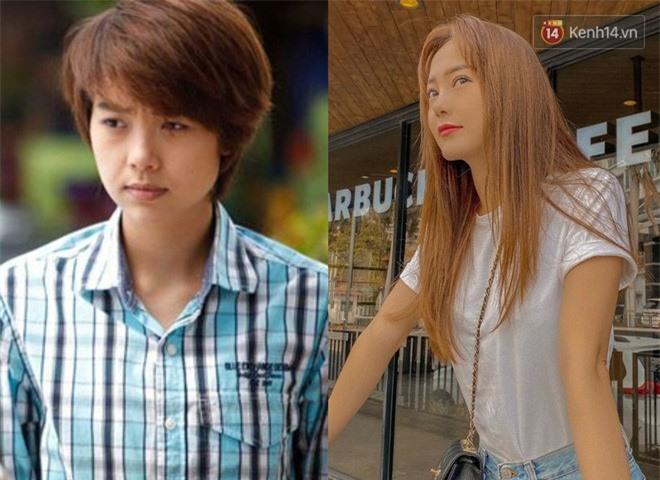 Giật mình ngắm lại kiểu tóc thời ơ kìa của sao Việt: Hà Tăng tóc bob, Bảo Thy tóc sư tử nhưng sốc nhất là tóc con trai của Minh Hằng - Ảnh 2.