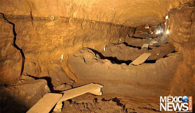 Ngạc nhiên phát hiện chất kịch độc ẩn trong kim tự tháp Rắn ở Mexico - Ảnh 3.