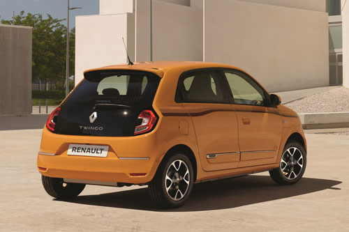 7. Renault Twingo (doanh số: 703 chiếc).