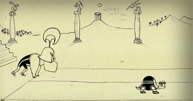 Đây là lời giải cho nghịch lý nổi tiếng của Zeno, về anh hùng Achilles chạy đua với con rùa - Ảnh 4.
