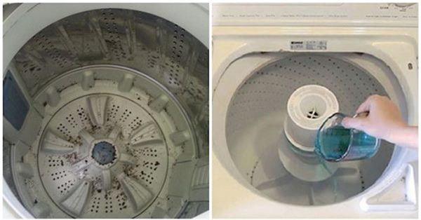 Đổ nửa cốc nước súc miệng vào máy giặt, biết công dụng rồi ai cũng muốn học theo - Ảnh 3.