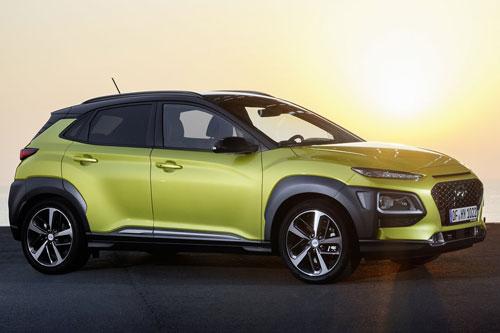 5. Hyundai Kona (điểm số tin cậy do chủ sở hữu đánh giá: 94,75/100).