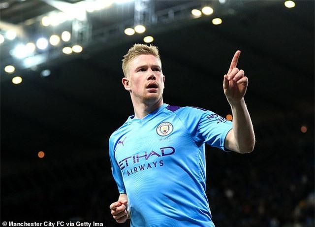 Man City bị cấm thi đấu, De Bruyne sẽ dứt áo ra đi - 1