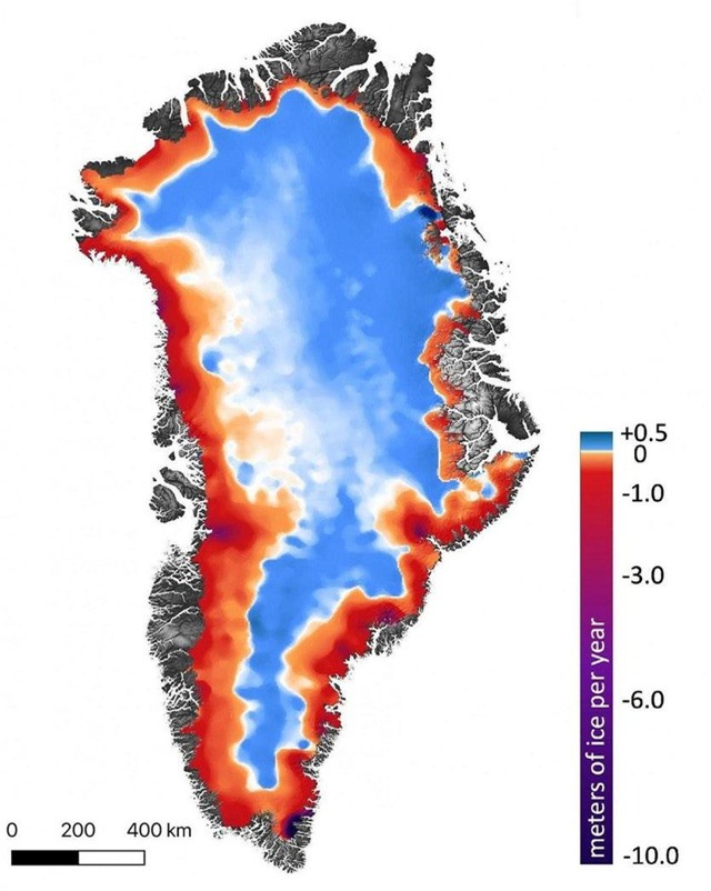 Một cái nhìn mới về Greenland và Nam Cực - 3