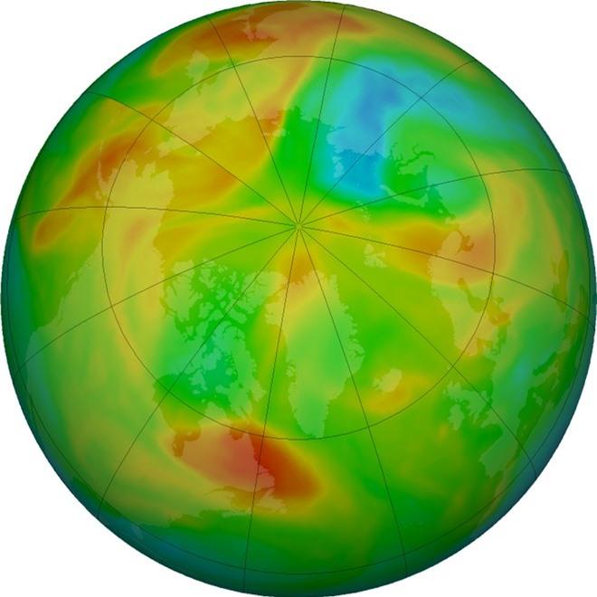Tại sao lỗ hổng tầng ozone tại Bắc Cực vừa đột ngột đóng lại? - Ảnh 2.