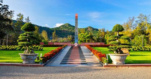 Nghĩa trang Hàng Dương. (Ảnh: Cổng TTĐT tỉnh Bà Rịa - Vũng Tàu)