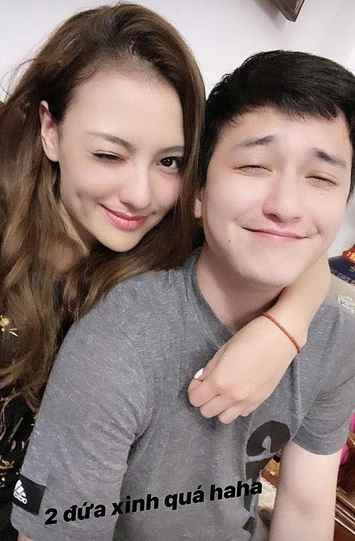 Huỳnh Anh và Hồng Quế.