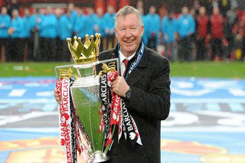 Cựu HLV Man United Alex Ferguson.