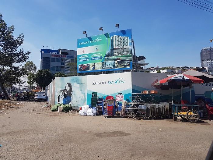 Dự án Saigonskyview tọa lạc tại đường Tạ Quang Bửu, quận 8, TP.HCM.