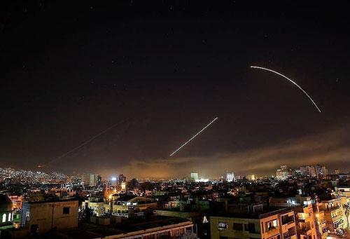 Israel đã tiến hành nhiều cuộc tấn công bằng tên lửa kể từ khi chiến tranh xảy ra ở Syria năm 2011. (Nguồn: AP)
