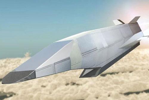 Mô hình tên lửa siêu thanh của Nhật Bản