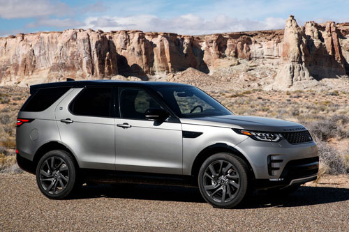 3. Land Rover Discovery.