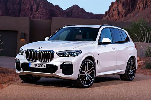 6. BMW X5.