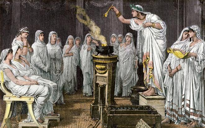 Chuyện về Vestal Virgin: những trinh nữ quyền lực nhất La Mã cổ đại, ai mơ tưởng đến cũng trả giá đắt - Ảnh 4.