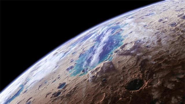 Sao Hỏa đã từng có những dòng sông lớn - 1