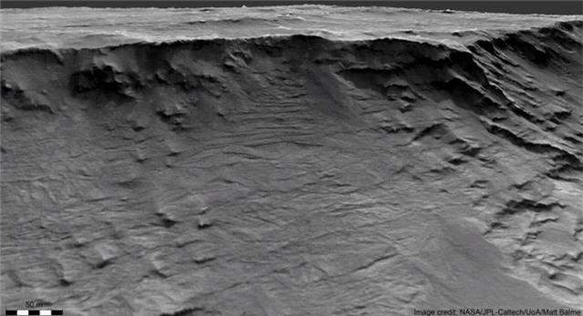 Sao Hỏa đã từng có những dòng sông lớn - 2