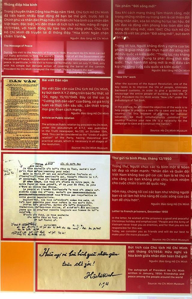 Triển lãm đặc biệt về Hồ Chủ tịch, một số hiện vật quý lần đầu xuất hiện - Ảnh 19.