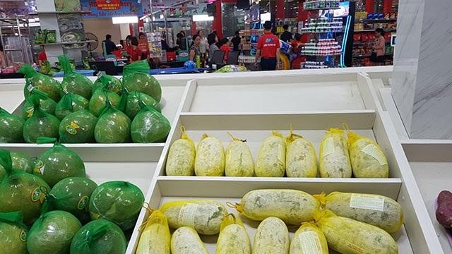 Bí xanh Tìa Dình đã vào siêu thị thông qua sự kết nối của các HTX (Ảnh: TL)