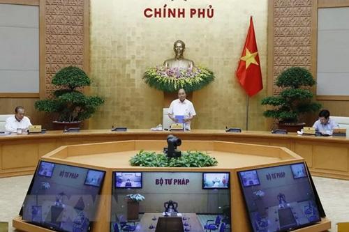 Thủ tướng Nguyễn Xuân Phúc phát biểu. (Ảnh: TTXVN)