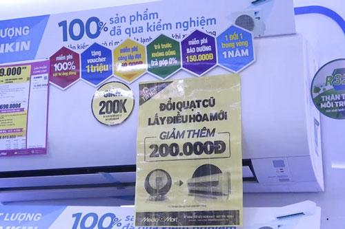Đầu hè, hàng điện máy giảm giá đến 50% (Ảnh Internet)