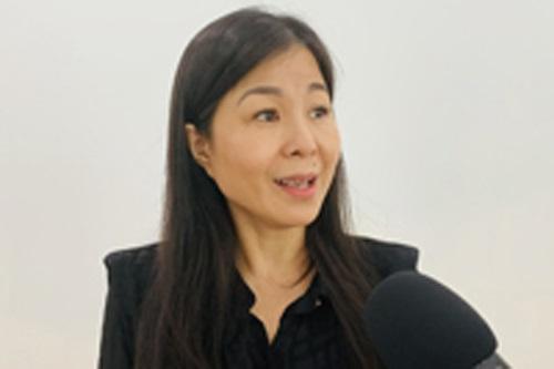 Bà Lê Thị Nam Phương, Chủ tịch HĐQT Hệ thống giáo dục Skyline, Chủ tịch Hiệp hội Nữ doanh nhân TP. Đà Nẵng. Ảnh: VGP/Minh Trang