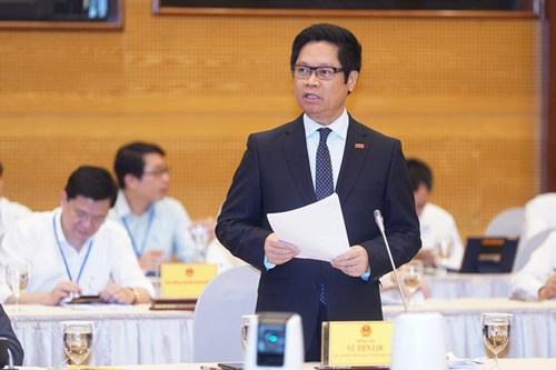 Chủ tịch VCCI Vũ Tiến Lộc phát biểu tại Hội nghị Thủ tướng Chính phủ với doanh nghiệp năm 2020 (Ảnh: Báo đầu tư)