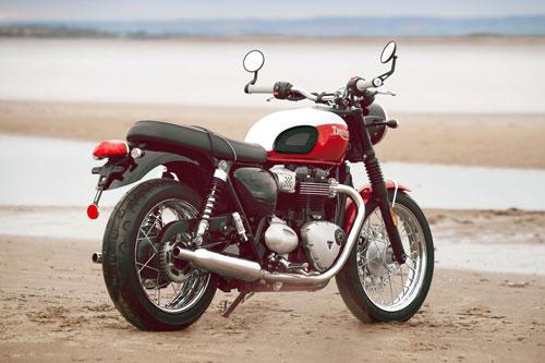 Triumph Bonneville Bud Ekins T120.