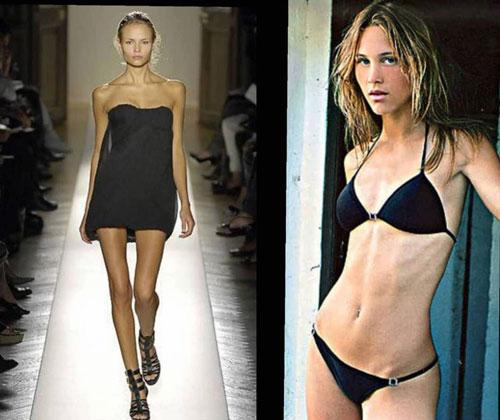 Nhiều người mẫu kiệt quệ về sức khoẻ lẫn tinh thần vì ép cân quá đà.