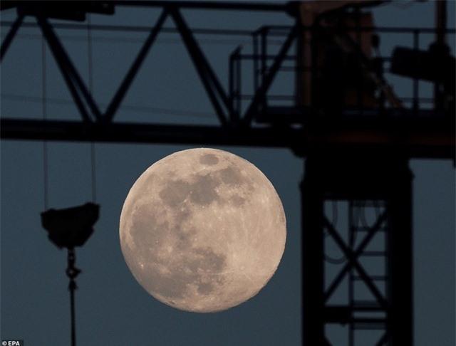 Ngất ngây trước vẻ đẹp của siêu trăng trên khắp thế giới - 8