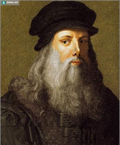 Chân dung danh họa Leonardo Da Vinci.