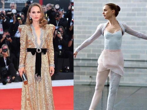 Natalie Portman trong Black Swan quá gầy guộc.