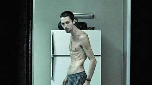 Christian Bale trong The Machinist.