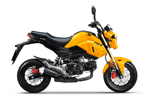 Honda MSX 125cc 2020. Ảnh: Honda.