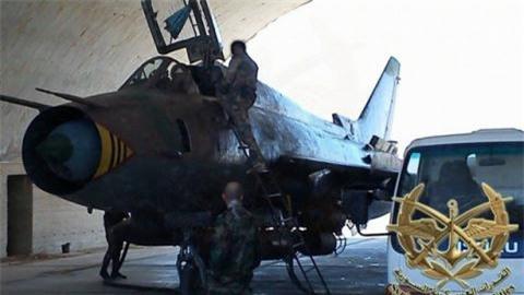 Nga giup Su-22 Syria manh ngang tiem kich My