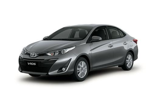 1. Toyota Vios (doanh số: 1.106 chiếc).