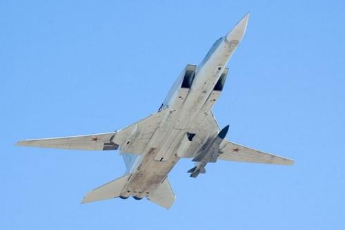 Nga đang chế tạo một tên lửa siêu thanh mới cho oanh tạc cơ Tu-22M3M. Ảnh: TASS.