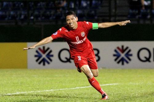 5. Nguyễn Anh Đức (106 bàn thắng). Ảnh: Goal.com.