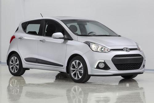 5. Hyundai Grand i10 (doanh số: 456 chiếc).