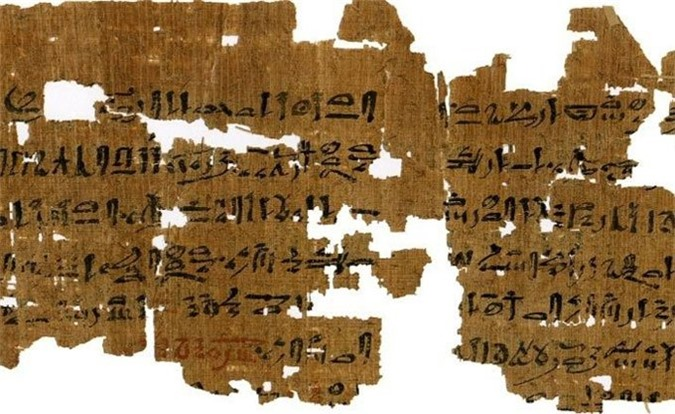Mảnh giấy cói có niên đại 3.500 năm hé lộ về cách người Ai Cập cổ đại thử thai