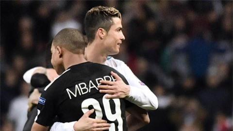Real cần có Mbappe để tiếp nối Ronaldo