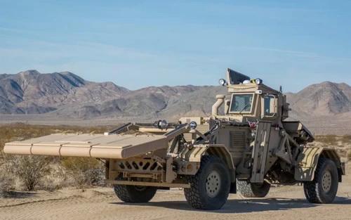 """""""Thợ săn IED"""" Husky của Quân đội Mỹ. Ảnh: Defence Blog."""